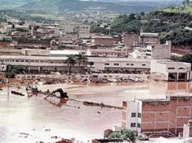 Huracán Mitch, Centroamérica