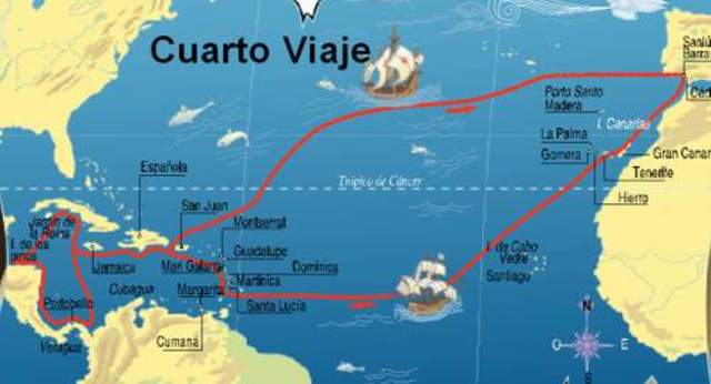 Cuarto viaje de Cristóbal Colón a América