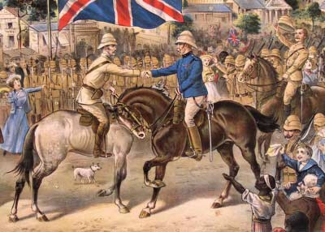 The Boers Surrender