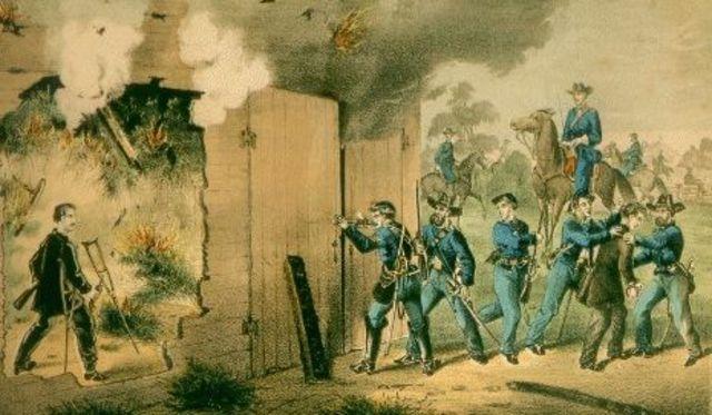 John Wilkes Booth's Death