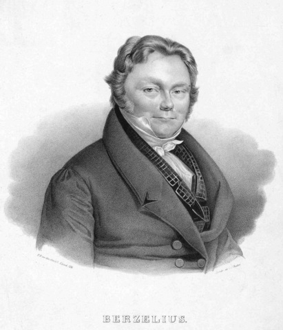 Aporte de J.J. Berzelius