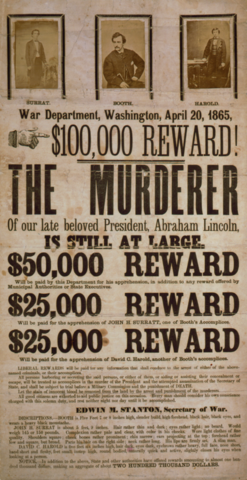 The Time Between the Assassination of Lincoln and Booth's Death