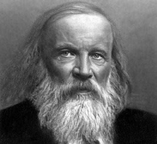 Aporte de Dmitri Mendeleev