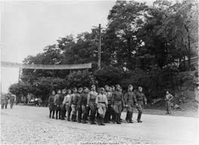 Russian troops enter Korea