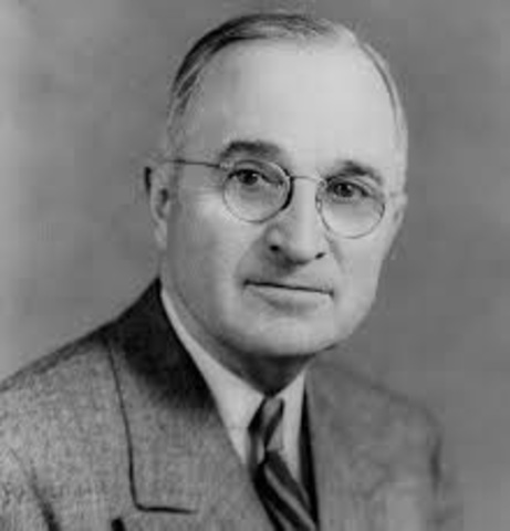 Harry Truman promises to fight communism