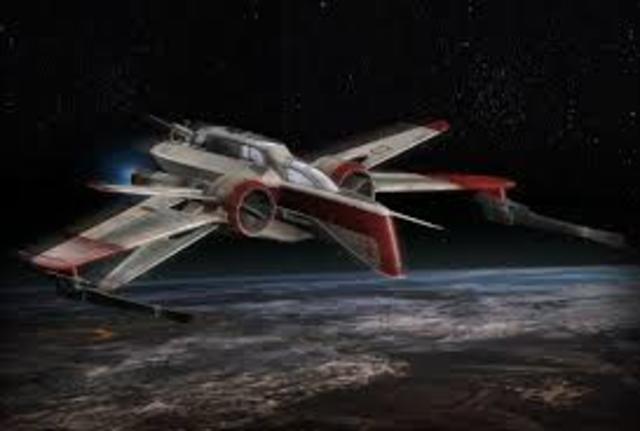 First starfighter developed