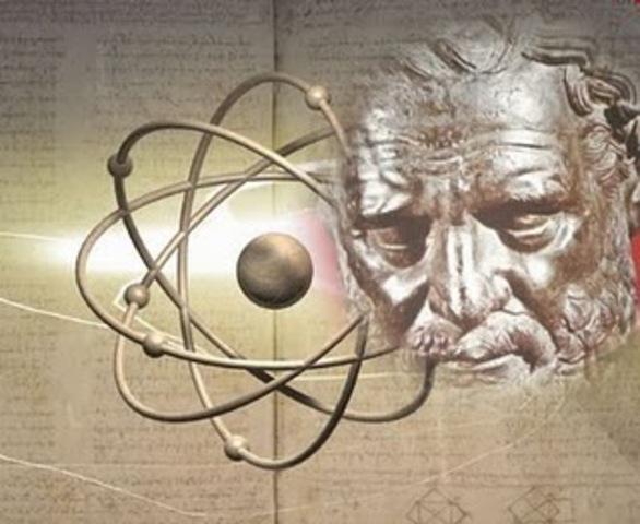 Propuesta del nombre átomo de Demócrito