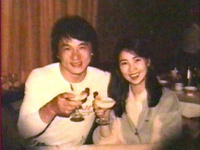 Jackie Chan gets married