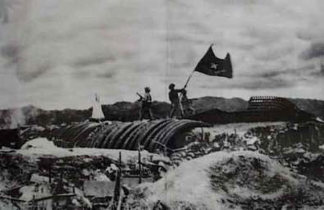 French are defeated at the Battle of Dien Bien Phu