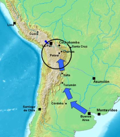 1° Campaña al Alto Perú