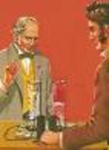 William Nicholson y Antony Carlisle