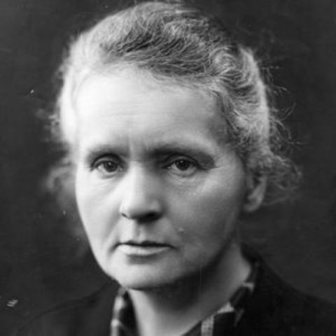 1898 Marie Curie