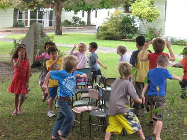 activity- Musical chairs