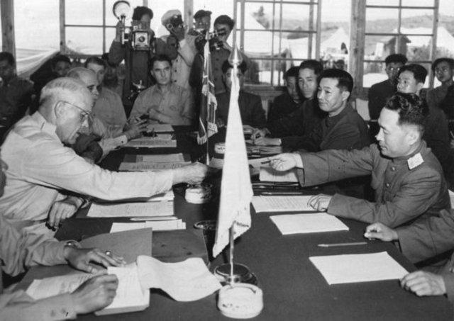 Final de la Guerra de Corea