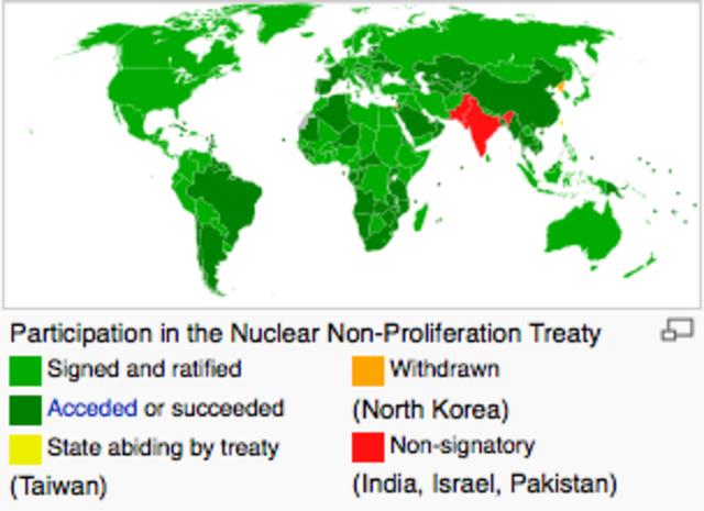Tratado de No Proliferación Nuclear