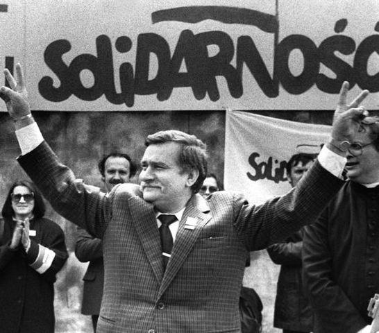 Sindicato Solidaridad en Polonia