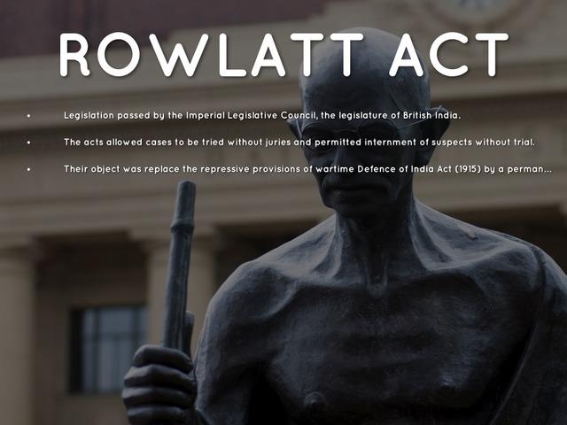 Rowlatt Acts