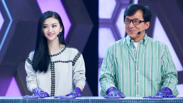"""First time at """"快乐大本营"""" (Happy Camp"""""""
