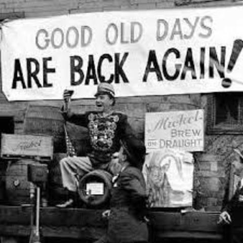 End of The Great Depression