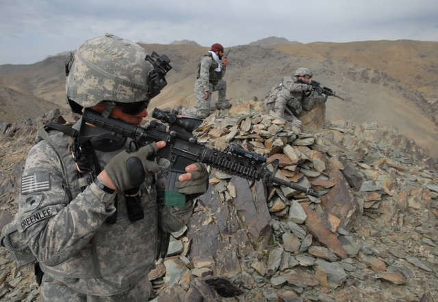 """Taliban """"can now outspend and outman"""" U.S. forces"""