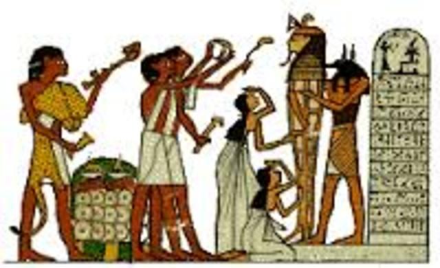 EDAD ANTIGUA (EGIPTO)  4.000 A.C