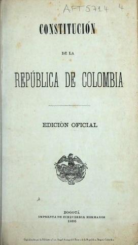 Segunda constitución de la republica