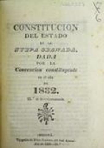 Constitucion Nueva Granada