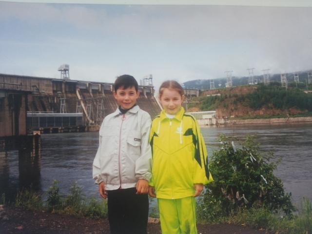 Первая поездка на Красноярскую ГЭС