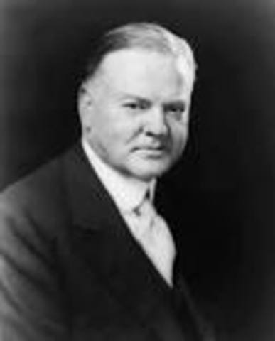 President Hoover has faith.