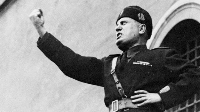 Ascenso de Benito Mussolini al poder
