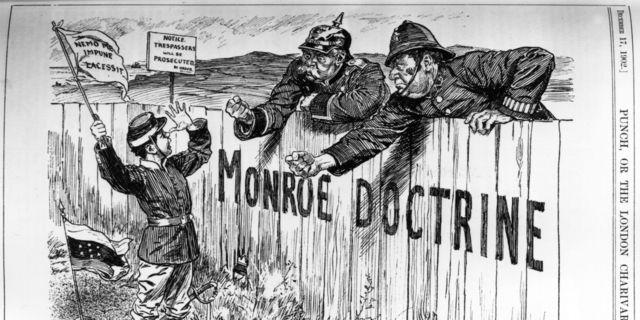 US Monroe Doctrine