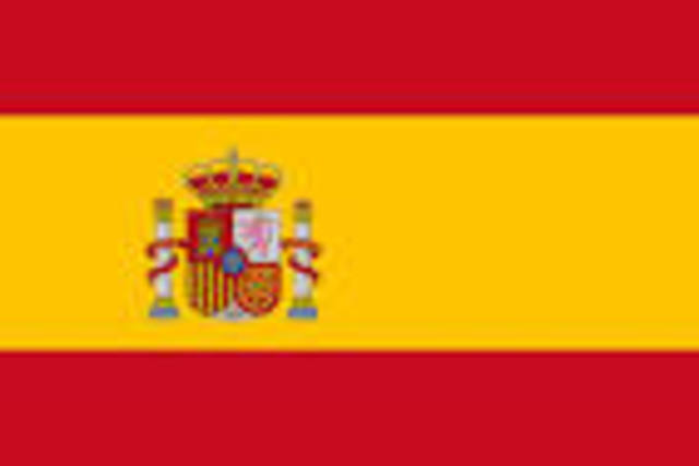 Countries slipping from Spain