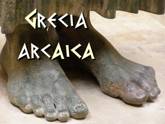 1 GRECIA ARCAICA