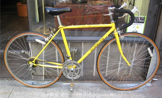 My Yellow Bicycle