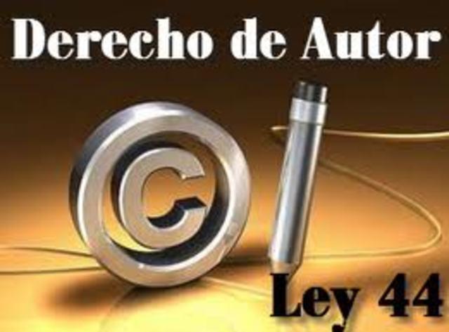 Ley 44 de 1993