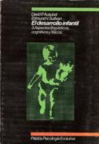 """Libro """"El desarrollo infantil"""""""