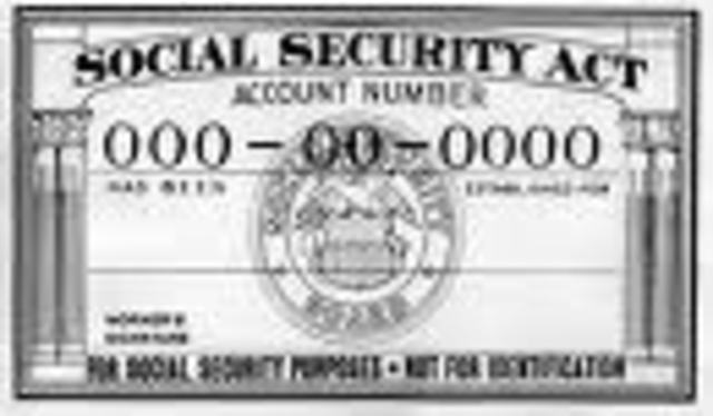 Social Security Act Established