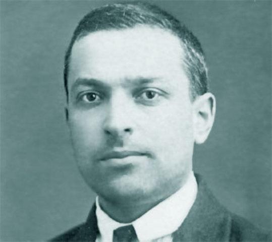 Lev  Semiónovich Vygotsky Nació en Orsha,Imperio Ruso, actualBielorrusia.