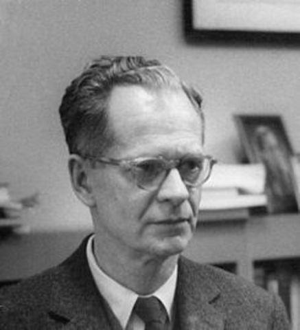Burrhus Frederic Skinner. Nació en Susquehanna