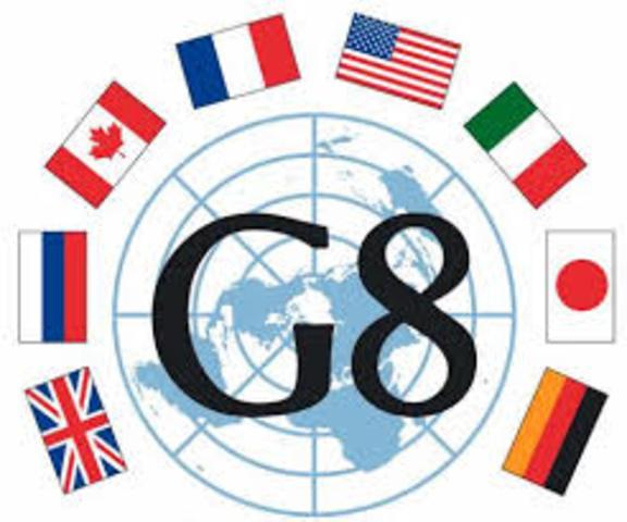 Sociedad de la información y el G8