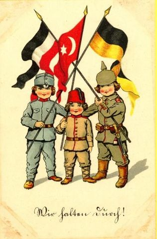 Germany signs secret Alliance with Ottoman Empire