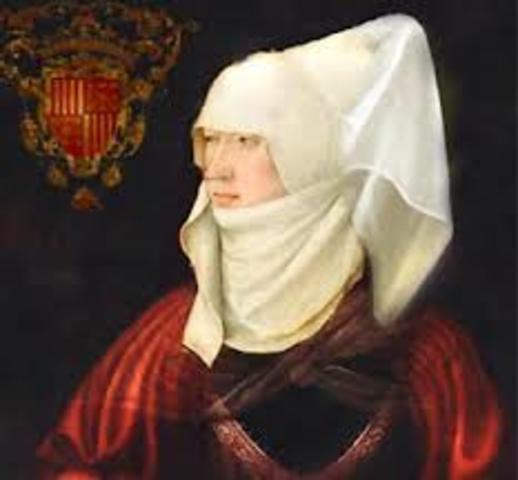 Solo el 17 de julio de 1404 Blanca recibió la asignación correspondiente a su dote, la denominada Camera reginale,6 consistente en la posesión directa de las ciudades de Paternò, Mineo, Lentini, Francavilla y Vizzini.7