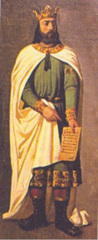 """Coronación de Sancho VI """"el Sabio"""""""