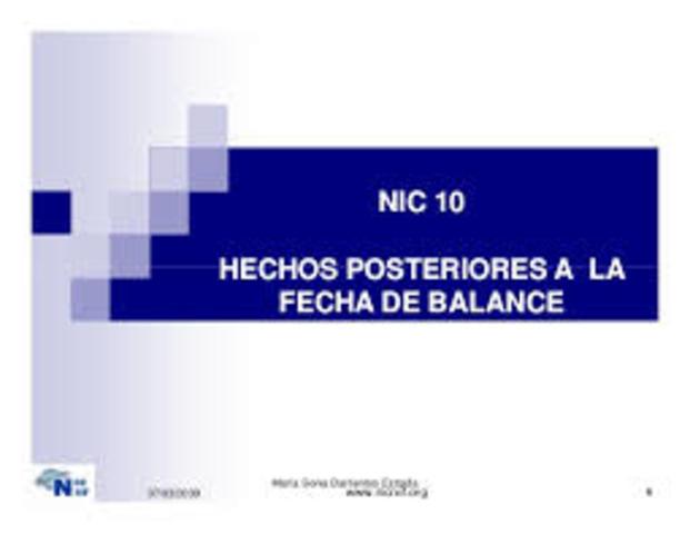 NIC -IAS10