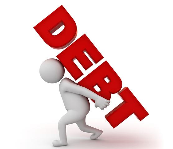 Fell into the debt hole