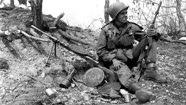Korean War - American involvement (1950)