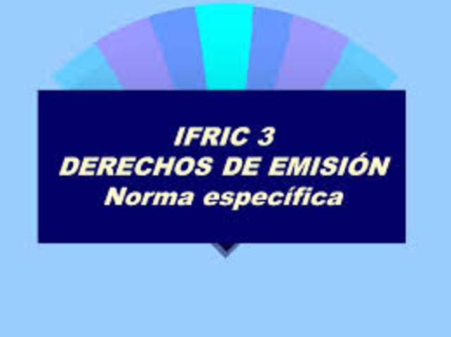 Publicación de algunas IFRIC