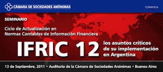 CINIIF –IFRIC 12