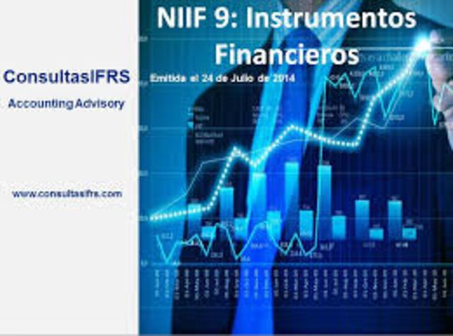 Se emite la NIIF 9