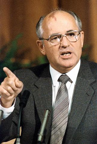 Arrivée au pouvoir de Gorbatchev